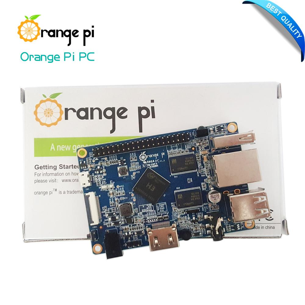 Prix pour Orange Pi PC H3 Soutien le Lubuntu linux et android mini PC Au-delà Raspberry Pi 2 En Gros est disponible