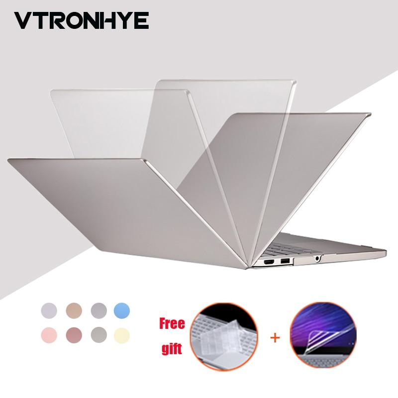 VTRONHYE Case for Xiaomi Notebook Mi Air 12.5 13.3 PC Hard Laptop Shell for funda Xiaomi Mi Air 12 13+keyboard cover+film кейс для диджейского оборудования thon case for xdj rx notebook