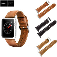 New Arrival HOCO Strap for Apple Watch Cowhide Genuine Leather Band Bracelet for Apple iWatch Series 1/2/3 Wristbands 42mm 38mm