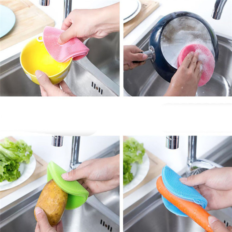 Round-Silicone-Dish-Washing-Sponge-Scrubber-Kitchen-Cleaning-antibacterial-Tool-Dishwashing-deoil-Brush-Free-Shipping-R (1)