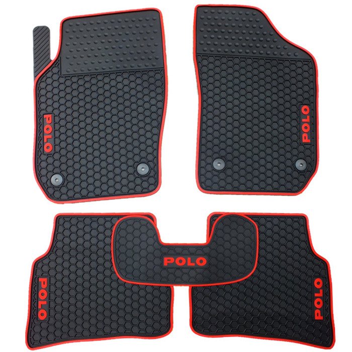 special free shipping no odor rubber waterproof rugs non slip easy clean latex car floor mats for VW POLO uk hong kong macao right steering wheel drive version car rugs mat for volkswagentouareg special latex rubber floor carpet