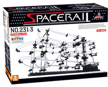 New Space Rail Funny Model Building Kit RollerCoaster Toys SpaceRail Level 3 DIY Spacewarp Erector Set
