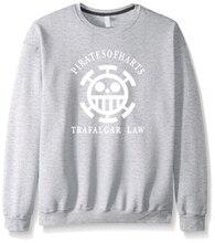 Anime One Piece Sweatshirt Men Trafalgar Law Death Surgeon Hoodie