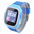 Cute Baby Smart Watch Kids GPS Watch Tracker SIM SOS Safe Anti Lost Monitor Kids Smart Touch Wristwatch Phone for Android IOS