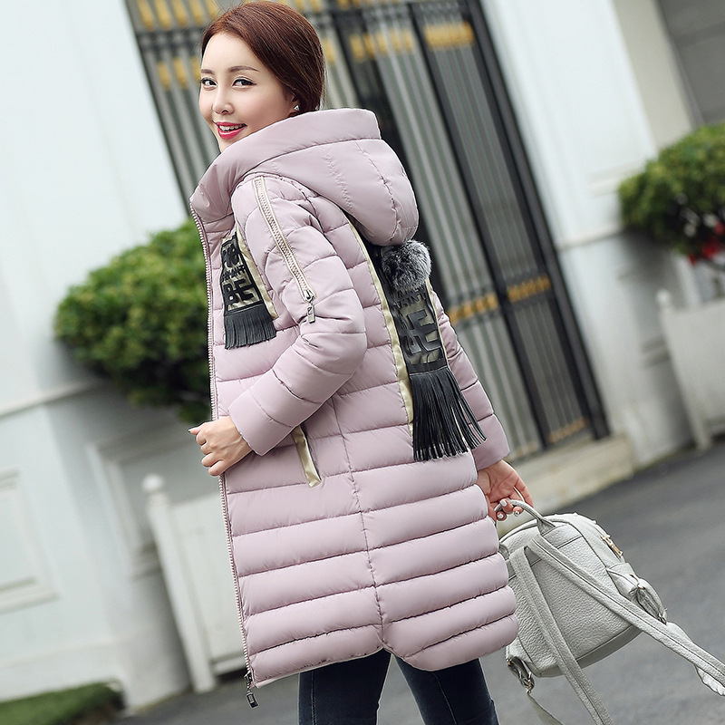 2016 Rushed Ukraine Winter Coat In The Long Section Of New Women s Padded Korean Female