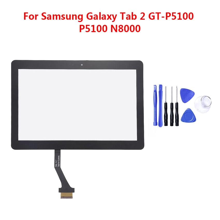 Sostituzione Touch Screen Per Samsung Galaxy Tab 2 P5100 P5110 Note N8000 N8010 10.1