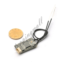 FX400R Frsky D16 Mini Micro Receiver with smart port Telemetry for RC Model FPV Drone Compatible 2.4G SBUS Output