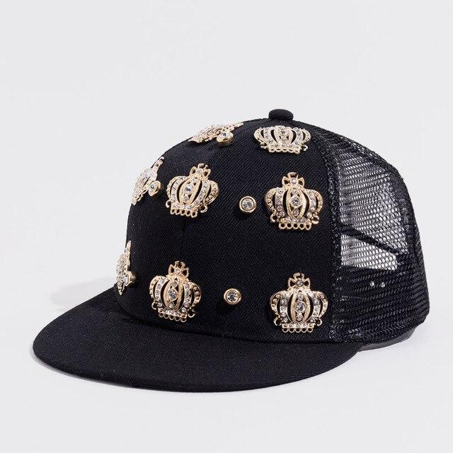 Snapback Hat Queen Crown...