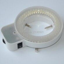 Бесплатная доставка! 144 шт. может контролировать Светодиодные белое кольцо освещения микроскопа Микроскоп свет