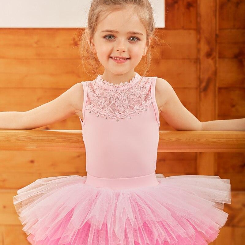 ballet leotard for girls dress ballerina kids tutu child dance tank costume