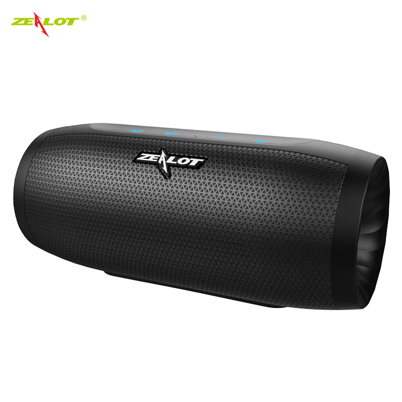 ZEALOT S16 New 3D Stereo Bluetooth Speaker Portable Wireless Bass Column Subwoofer Speakers with TF Card