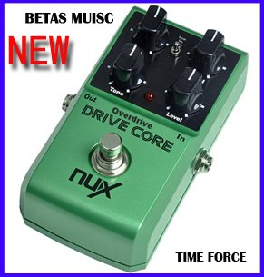 NEW Guitar Effect Pedals/NEW NUX DRIVE CORE/Stomp Boxes / Core series, Overdrive Core True Bypass new