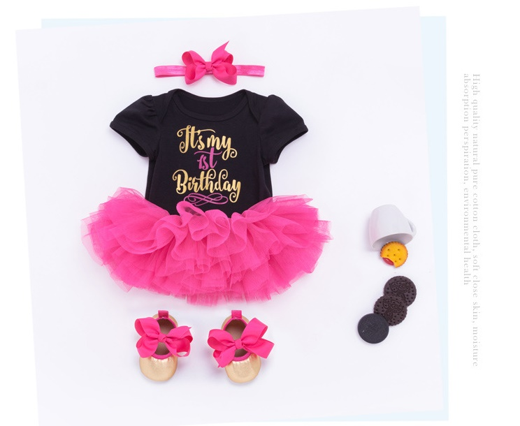 3Pcs Doll Accessories 55cm Silicone Doll Clothing Reborn Baby Girls Toys Clothes Dress Headband Shoes Set Kids Birthday Gifts