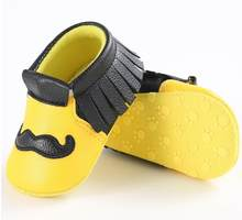 Fashion Big Bearded Baby Non-slip canvas Sneakers Kids Shoes Babe First Walkers Toddler Prewalkers Boys Soft Sole Shoes(China)
