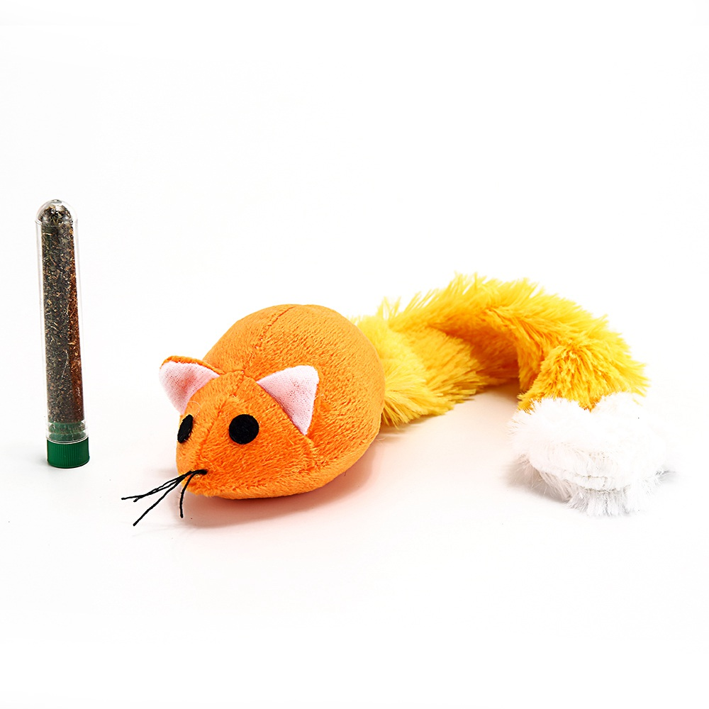 Catnip Cat Toy for Cats Plush Soft Pet Toys Interactive Mice Mouse Toys fro Cat Funny Kittens Training Toys Play Games TY0019 13