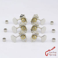 1Set 3R 3L Genuine Grover V97 18NA Vintage Guitar Machine Heads Tuners Gear Ratio 1 18