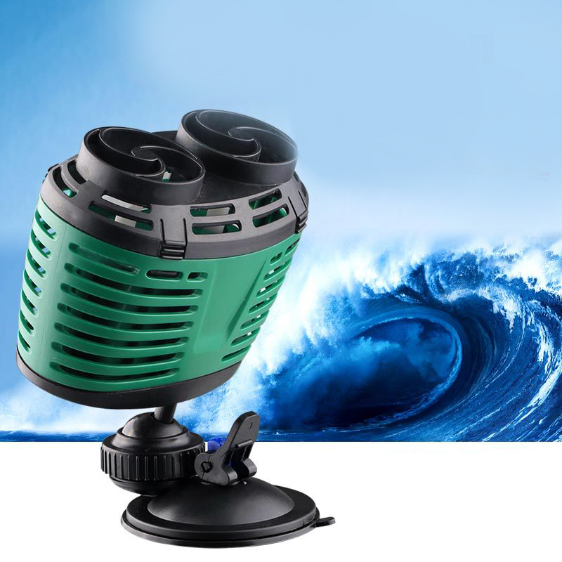 <font><b>360</b></font> adjustable degree submersible pump to make surfing wave for Aquarium fish tank, 1X 2X power head wave maker water pump fish image