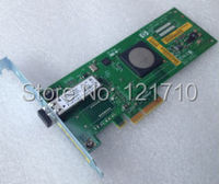 AD299 60001 AD299 80001 PCIe X4 4Gb FIBER CHANNEL HBA ADAPTER For Hp Server