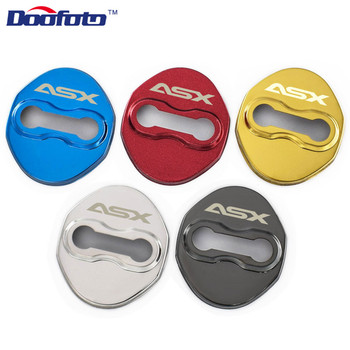 Doofoto Car Styling Auto Protection Buckle Accessories Case For Mitsubishi Asx Sport Decoration Door Lock Cover Car-Styling 4pcs - discount item  19% OFF Auto Replacement Parts