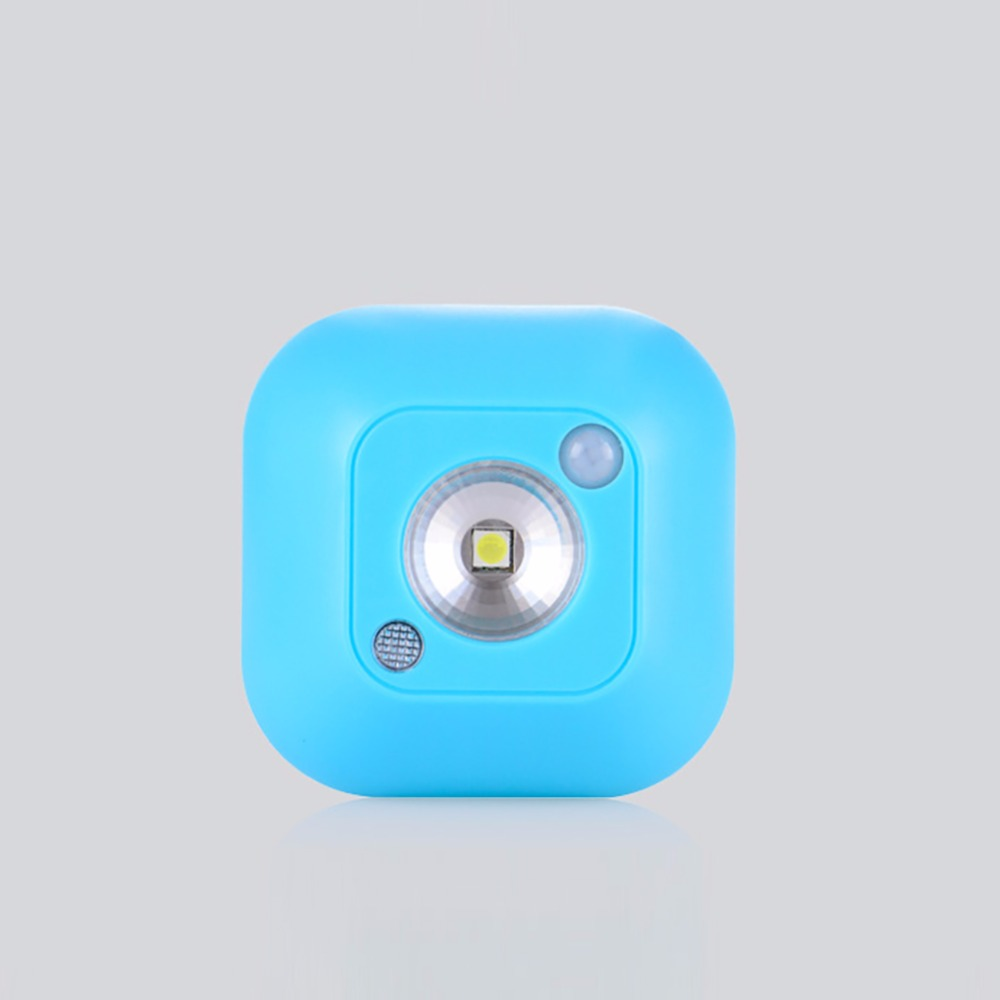 Mini Outdoor LED Light Emergency Night Lamp Motion Activated Sensor Lights Battery Powered Wall Light