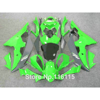 ABS fairing kit fit for YAMAHA R6 2008 2014 green black fairings set YZF R6 08 14 #2135 Full injection