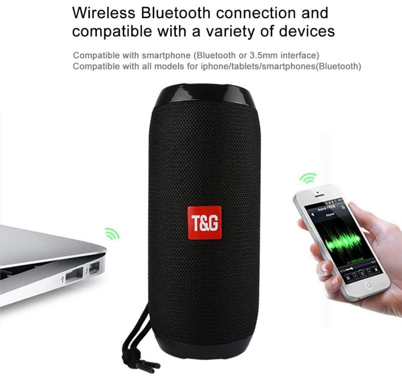 Bluetooth connection Waterproof Wireless Speaker
