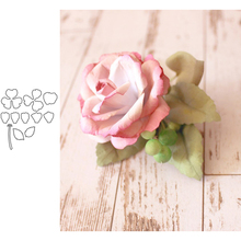 Flower English Rose Metal Cutting Dies for Scrapbooking and Cards Making Paper Craft New 2019