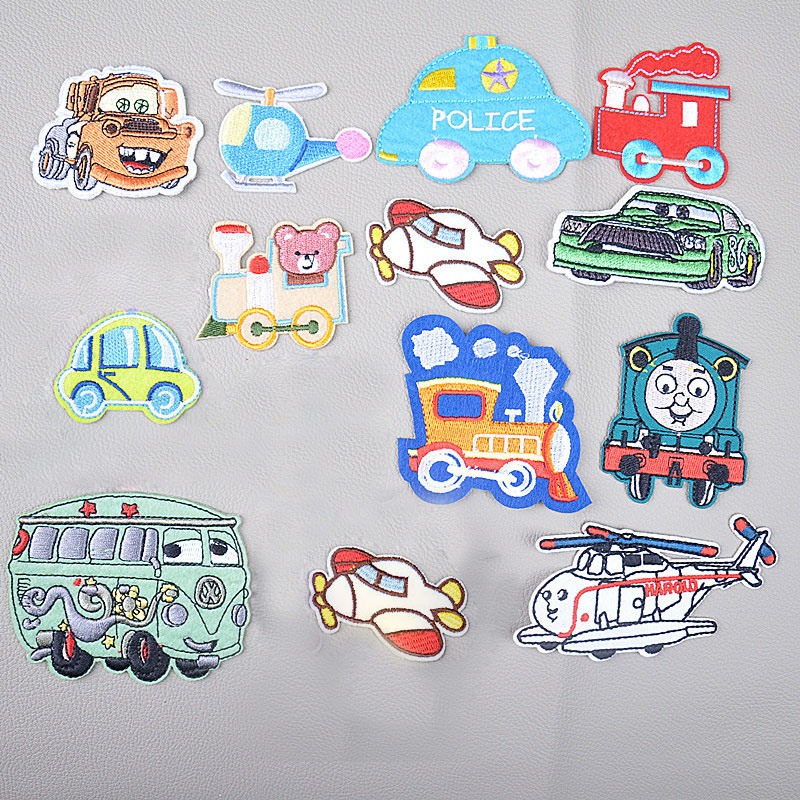 Gernro 1 PCS Stickers Patches for Clothing Iron on