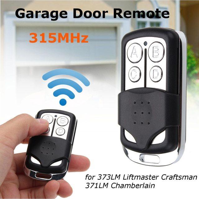 Kroak Garage Door Gate Remote 315mhz For 373lm Liftmaster Craftsman