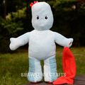 "IN THE NIGHT GARDEN PLUSH STUFFED TOY CHARACTERS IGGLE PIGGLE 17"" SOFT DOLL FIGURE"
