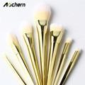 Aochern 2017 New 7 PCS Cosmetic Makeup Brushes Set Powder Foundation Eyeshadow Eyeliner Lip Brush Tools