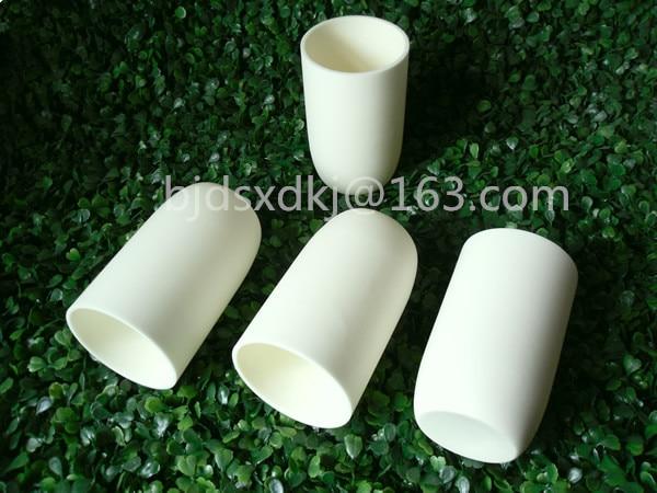 99.3% alumina crucible with lids / 400ml / cylindrical corundum crucible / ceramic crucible цена