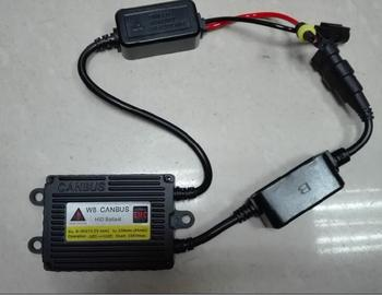60pcs/lot 35W W8 CANBUS HID Slim Ballast High Quality 12 months warranty