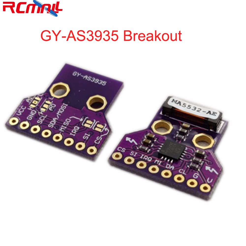GY-AS3935 AS3935 Light-ning Detector Digital Sensor Breakout Board Module SPI I2C Strike Thunder Storm Distance Detection FZ3480