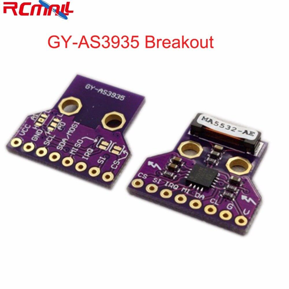 GY-AS3935 AS3935 Sensor Breakout Board Módulo SPI Digitais Detector de Luz-ning I2C Greve Trovão Tempestade FZ3480 De Detecção De Distância
