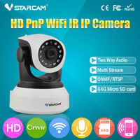 Onvif 2 0 720P IP Camera Wireless Wifi CCTV Camera HD Indoor Pan Tilt IR CUT