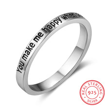 925 Sterling Silver Rings Women Silver Jewelry Cupid Arrow Rings Fashion Love Rings For Lover Valentine Girls Gift (RI102758)