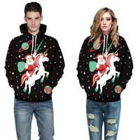 Joyeux Noël Chaude Mode Hommes Femmes 3d Sweat-Shirts À Capuche Imprimé À  Capuche 7de916031329