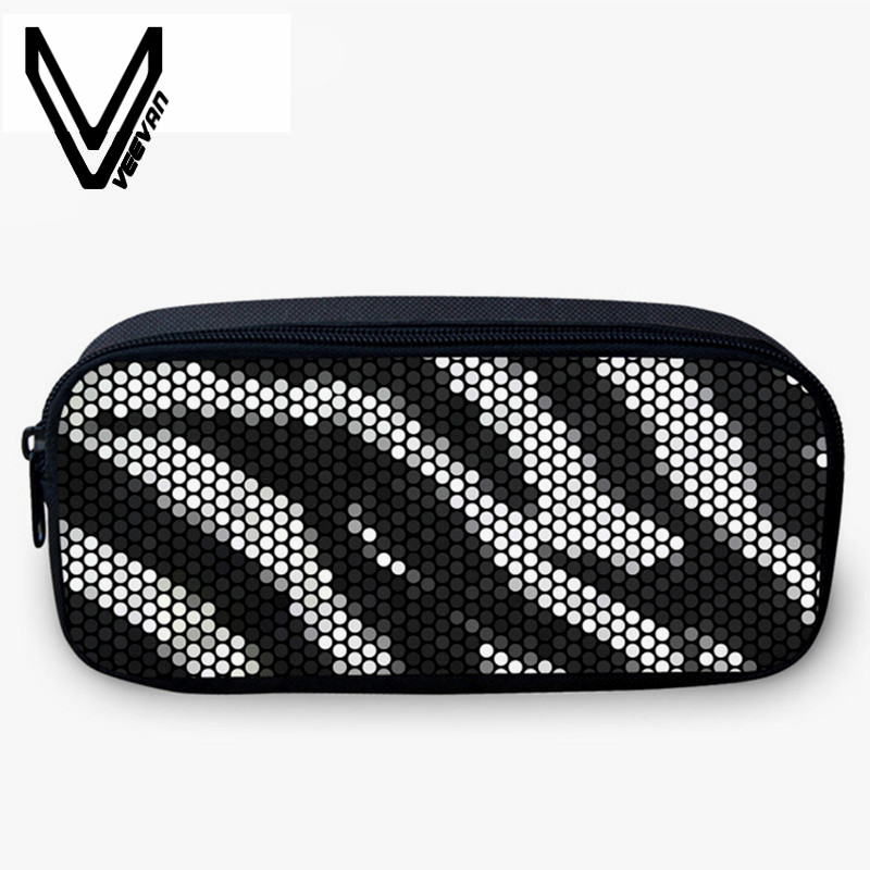 VEEVANV Purse Coin-Pencil Wallets Make-Up-Bag Colorful Bright Casual Beautiful-Box School-Case