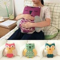 2016 Hot Sale Cartoon Lovely Design Home Office Pillow Cushion Home Sofa Decorative Owl Pillow PP