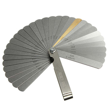Medidor de espesor de la válvula del coche, herramienta de medición, 32 cuchillas, 0,04 0,88mm, medidor de espesor, relleno métrico, 89A32