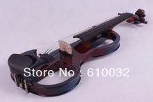 Color 4/4 5 Cuerdas Violín Eléctrico estilo de la mano de madera Maciza 2-5 # más color