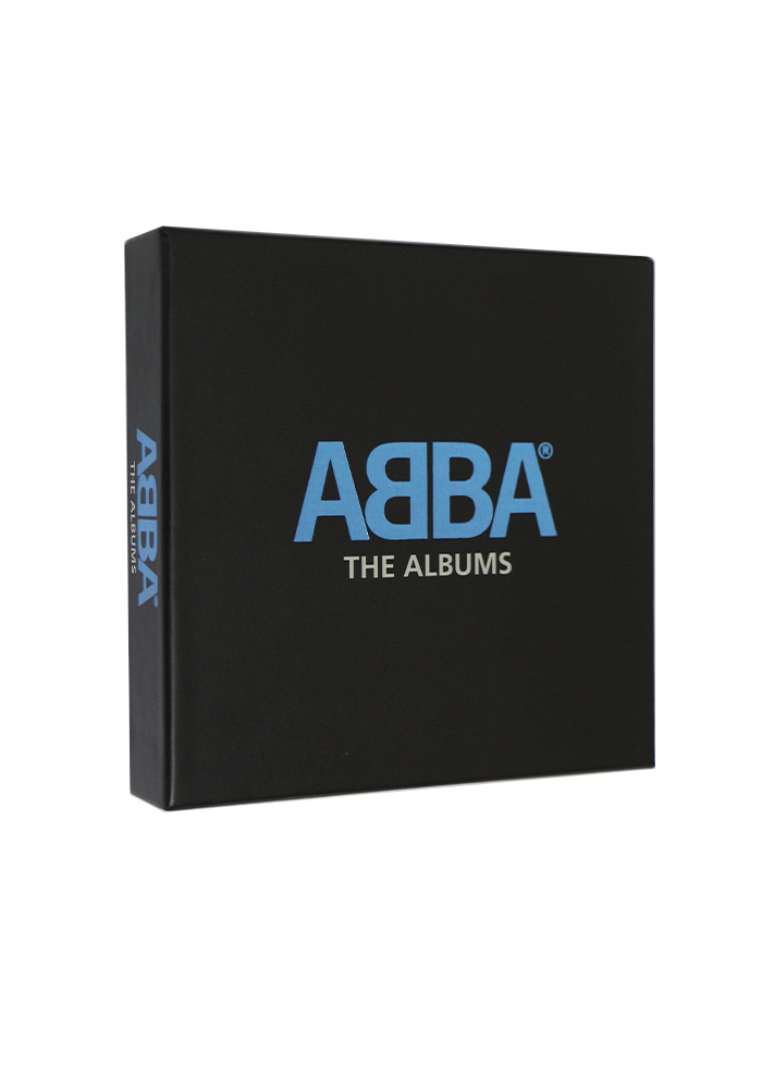 ABBA-The Albums Box set 9CD Music CD BoxSet Collection Free Shipping cd abba deluxe