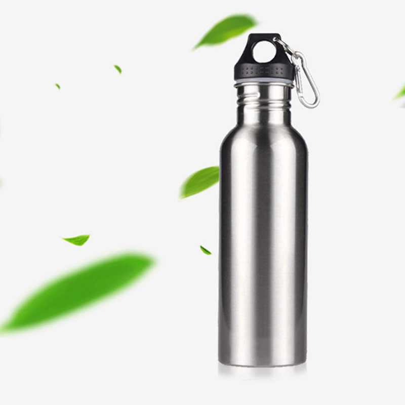 25oz 750ml Stainless Steel Sports Water Bottle + Leak Proof Cap Gym Canteen Tumbler ALS88