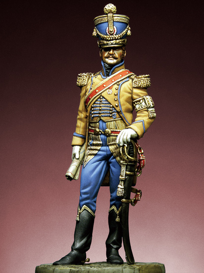 Napoleonic Officer 54mm