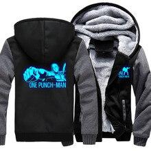 One Punch Man Hoodie Thick Sweatshirts