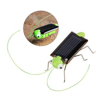 2019 New Solar Grasshopper Educational Solar Powered Grasshopper Robot Toy Required Gadget Gift Solar Toys No Batteries For Kid 5