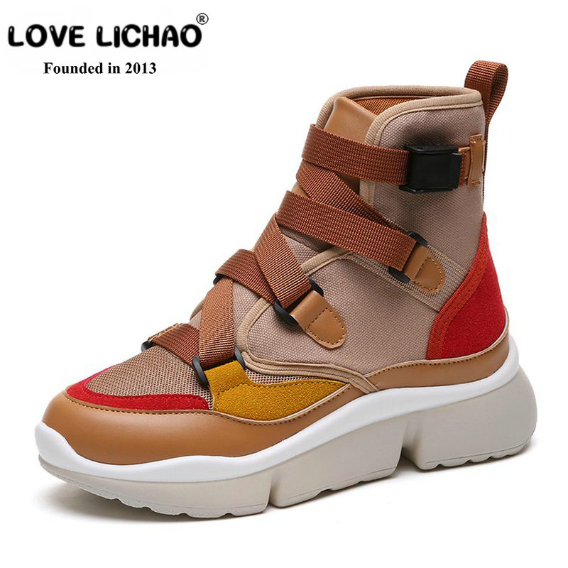 Women Boots 2018 New Design Autumn Winter Boots Women Fashion Boots Leather Casual Snow Shoes Ankle Boots for Women Botas Mujer vtota boots women fashion autumn martin boots warm women shoes ankle boots for women winter botas mujer wedges ankle boots d23