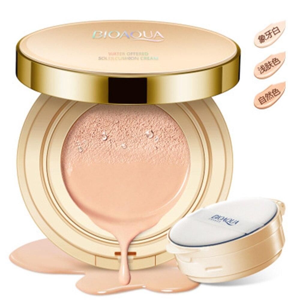 BIOAQUA BB Air Sponge Cream Moisturizer Facial Cream Base Fo