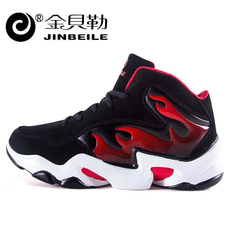ФОТО 2017 Sapatilhas Jinbeile Autumn New High-top Walking Shoes Men Wear Breathable Boots Authentic Sports Big Yards Students Slip